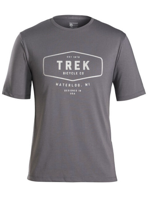 Bontrager Evoke Mountain Tech Tee Men Solid Charcoal